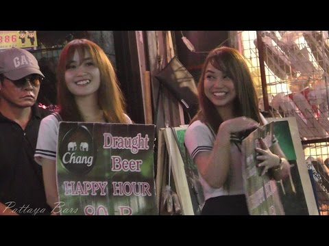 Walking Street Nightlife Pattaya 4K UHD