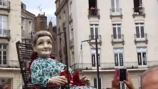 Grand-mère Géante Royal de Luxe Nantes 7 juin 2014