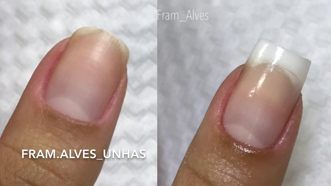 ALONGAMENTO DE UNHAS COM TIPS