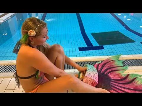 شاهد: في فنلندا.. تعلم السباحة على طريقة الحوريات  - 15:54-2019 / 1 / 21
