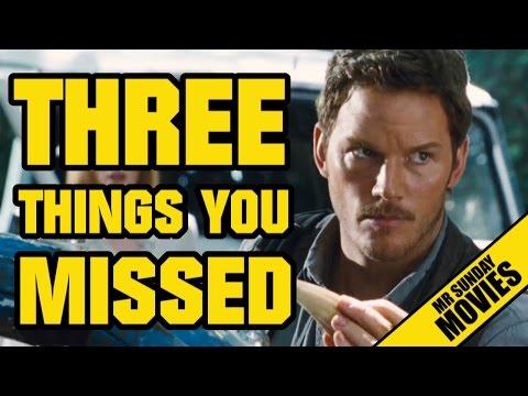 JURASSIC WORLD Trailer Breakdown - Three Things You Missed