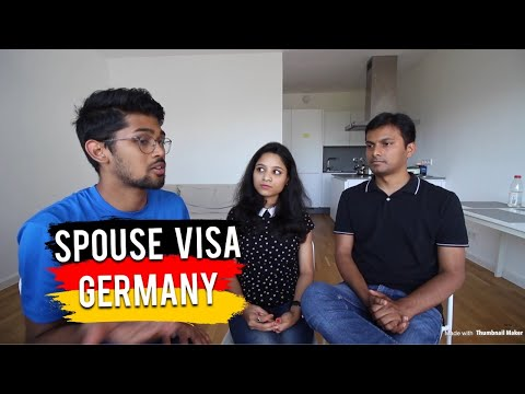 HOW TO GET GERMAN SPOUSE (Husband or Wife) VISA ? Family Reunion Visa (Spouse)
