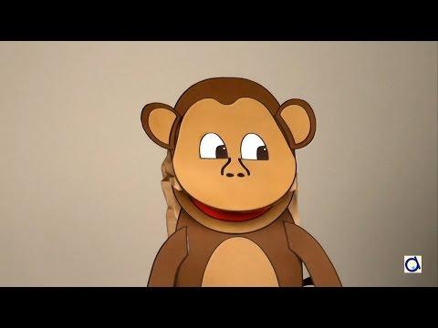 Fabriquer une marionnette singe en papier