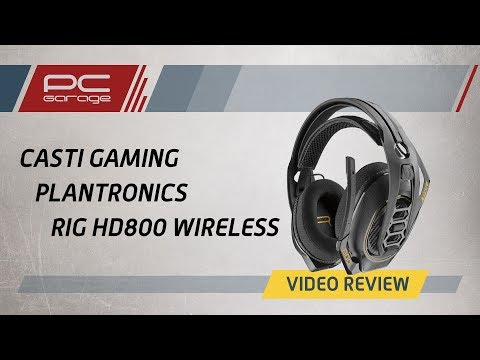 PC Garage – Video Review Casti Gaming Plantronics RIG 800HD