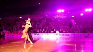 20151024 WDC-AL Taipei Open Morten and Roselina Rumba