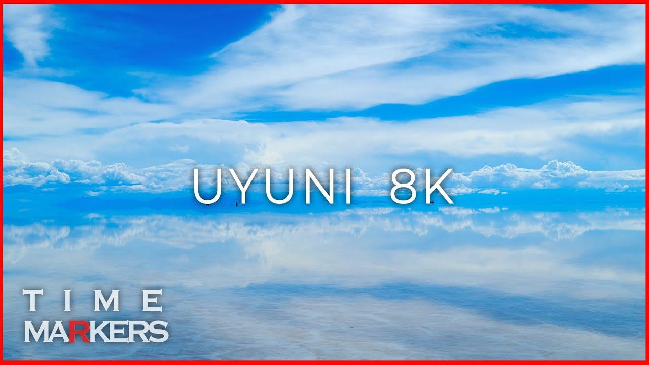 【 8K 】 【 TIME 15:11 】 Uyuni Salt Flats, Bolivia (PART1)   1MIN Moments 'RIDE ON THE MIRROR'