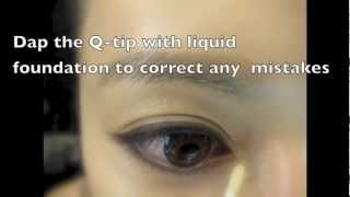 Basic Invincible Eye lines *QQ眼線基本法*