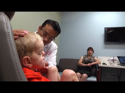 Russian Toddler Travels To Michigan Seeking Care For Apert Syndrome
