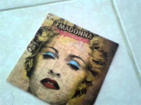 Madonna CD Celebration (Deluxe Version) Unboxing