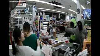 RAW FOOTAGE: Armed Robbery at Sayford Supermarket in Harrisburg