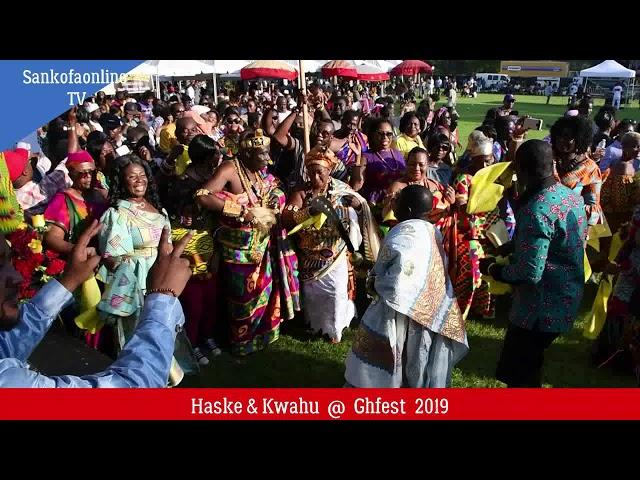 Haske Society & Kwahu United @ Ghanafest 2019