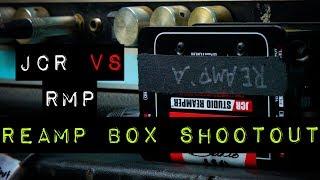 Reamp Box Shootout - Radial JCR (John Cuniberti Circuit) versus $100 Radial ProRMP