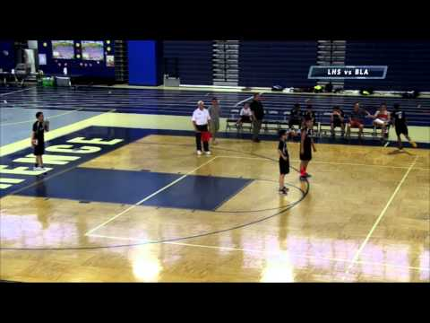 LHS   Volleyball vs Boston Latin Academy Playoff Game 2015