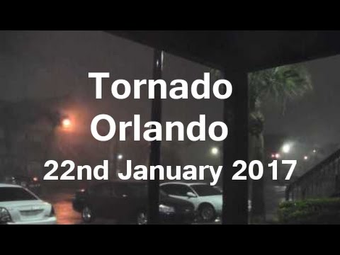 Tornado in Central Florida - LIVE - 22nd January 2017