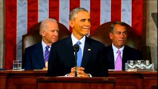 Obama Drops the Mic at the State of the Union