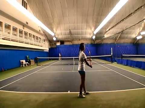 Melissa Carlay Tennis Video