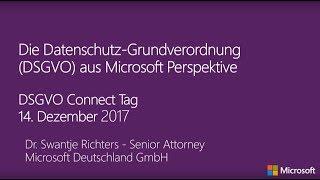 Die Datenschutz-Grundverordnung aus Microsoft Perspektive | Microsoft