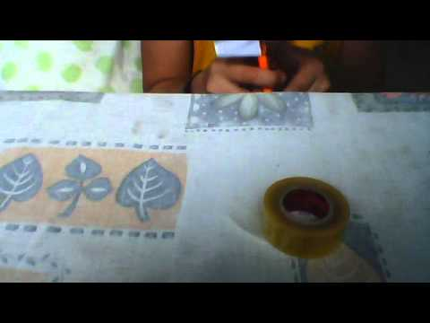 how to make a paper mp 5 part 1