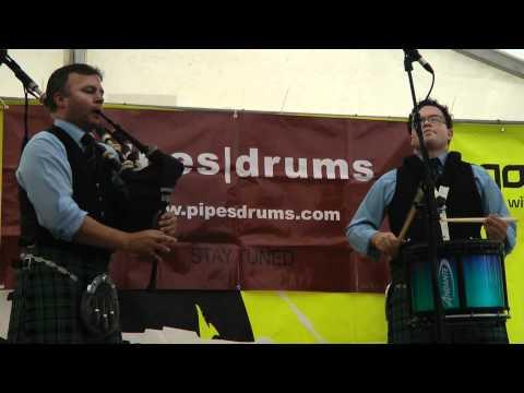 Stuart Liddell & Steve McWhirter (1 of 3) - Piping Live 2011