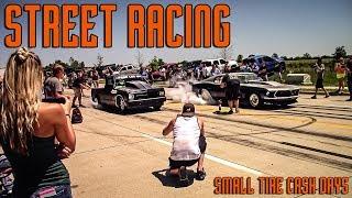STREET RACING: Small Tire Cash Days Twin Turbo Firebird, Mustang, 2jz Corolla and more