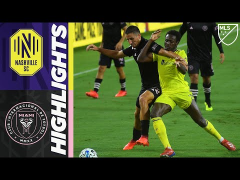 Nashville SC Inter Miami Goals And Highlights