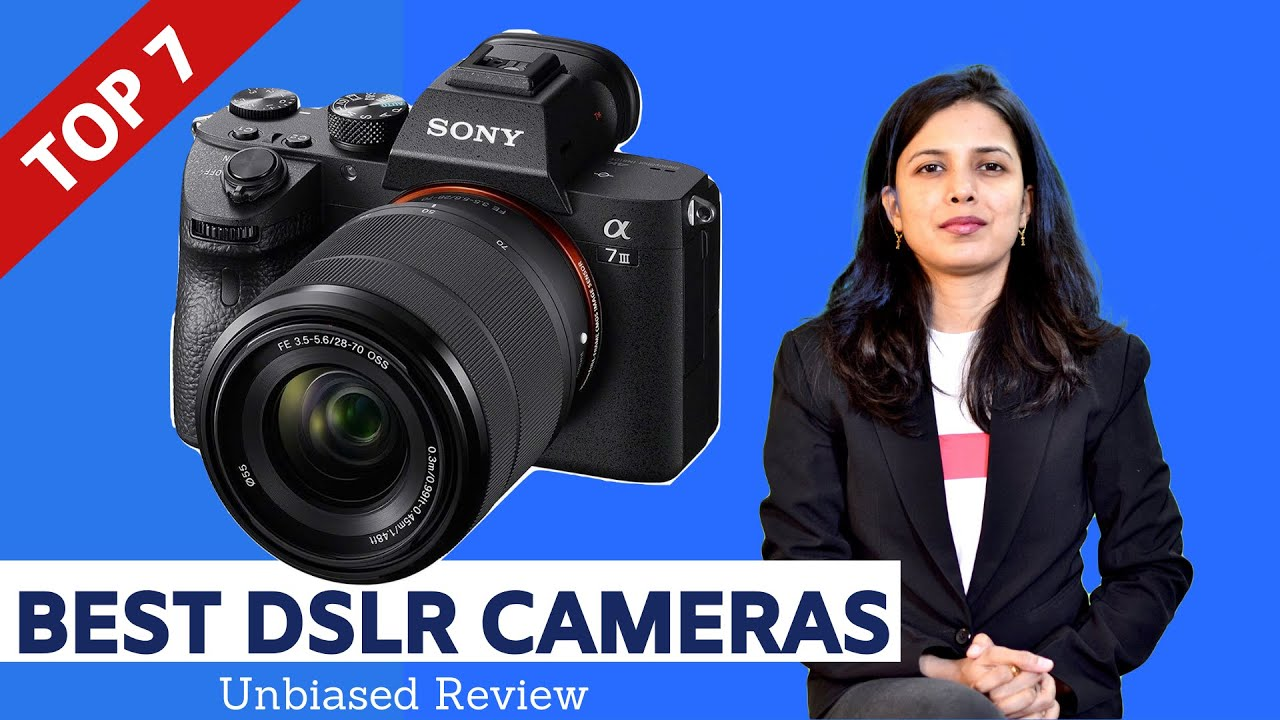 ✓ Top 6: Best DSLR Cameras in India With Price | DSLR Camera Review and  Comparison - YouTube
