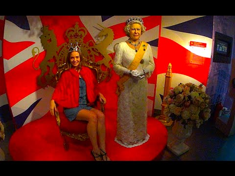 Madame Tussauds Bangkok fashioned wax museum 2015, 2016