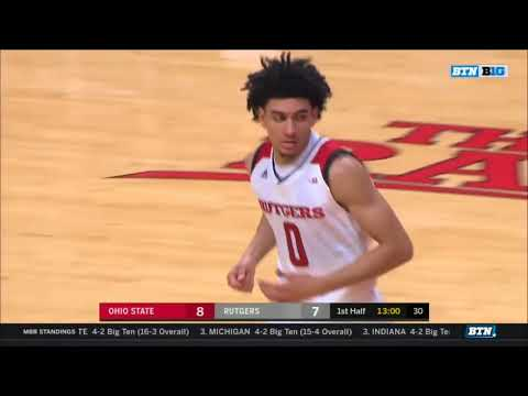 (NCAAM) Ohio State Buckeyes at Rutgers in 40 Minutes (1/14/18)