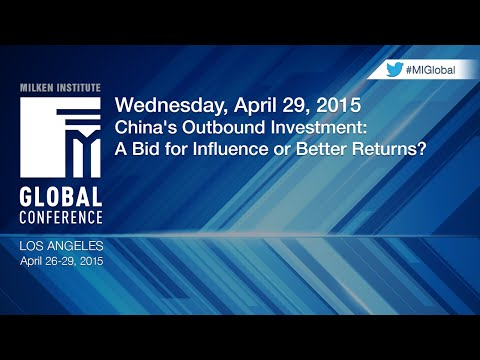 China's Outbound Investment: A Bid for Influence or Better R