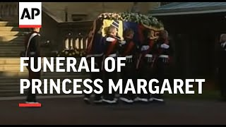 Royal Family at Funeral of Princess Margaret - 2002