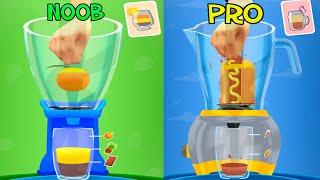 NOOB vs PRO - Blend It 3D Gameplay Walkthrough Part 1
