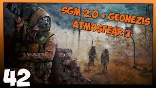 Stalker SGM 2.0 + Geonezis + Atmosfear 3 Прохождение Часть #42 Научный Брифинг, Орех, Сверло, КБО