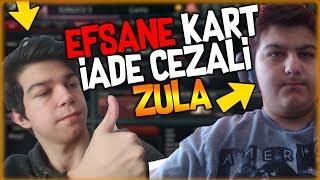 EFSANE KART İADE CEZALI ZULA OYNADIK! - KRAL KOBRA DESENİMİ İADE ETTİ!