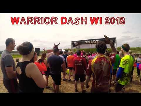Warrior Dash WI 2018 🔥🌬🌊