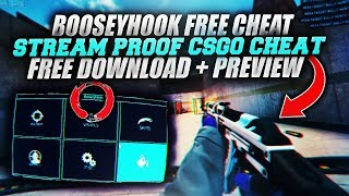 STREAM PROOF FREE CSGO UNDETECTED CHEAT/HACK [WORKING 2018]
