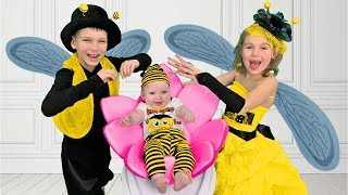 Bees Song with Four Kids | Songs for  Children