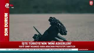 """İlk sınavı ASELSAN'a karşı verdiler... Türkiye'nin """"mini askerleri"""" sahaya çıktı!"""