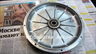 Модернизация мотор-колеса  Поларис (POLARIS)(Цель - 60-70А батарейного и 180-220А фазного тока - в форсаже это (~4Квт). - Наши работы - http://velomastera.ru/shop/osnov.php?idstat=121&idca..., 2012-10-30T04:19:24.000Z)