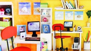 DIY Minyatür  Ofis nasıl yapılır?  Kendin Yap - LPS ( minişler)  Incin