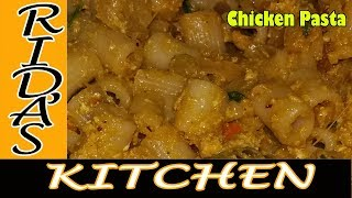 chicken pasta  |  Eid special recipes |chicken pasta with egg by Rida