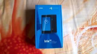 New phone lava iris 505