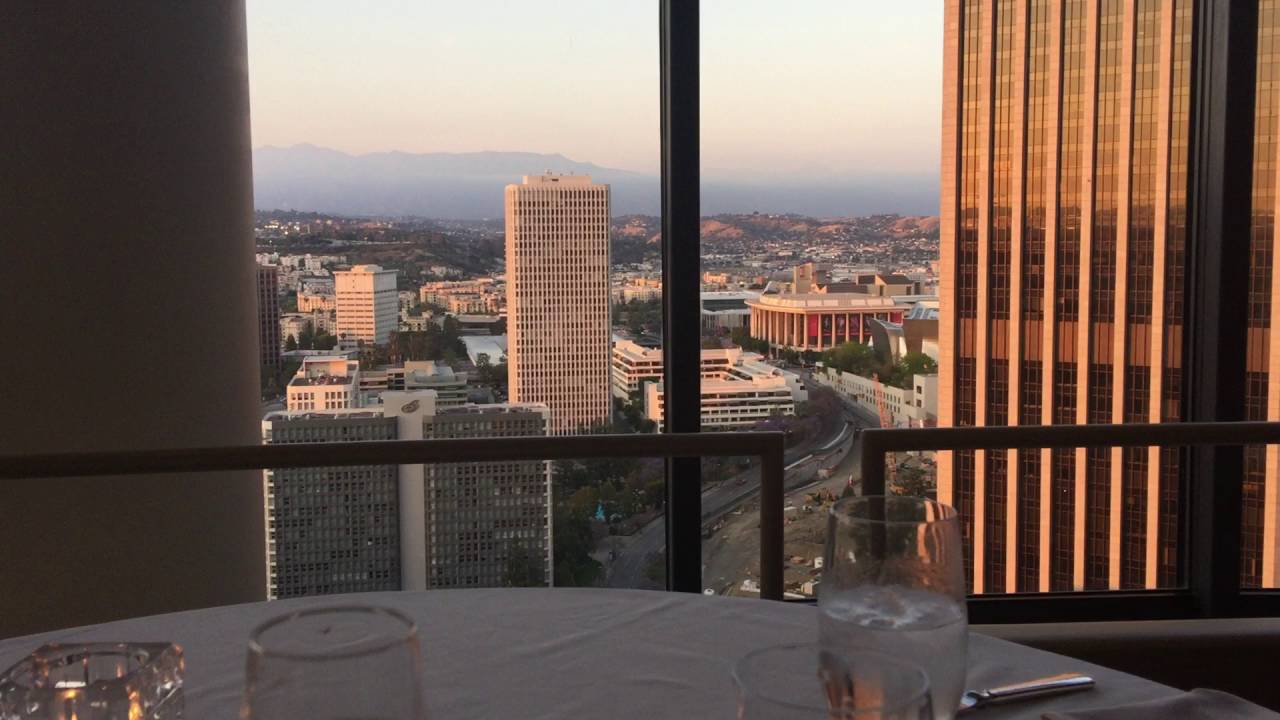 La Prime Restaurant At The Westin Bonaventure Hotel April 2016