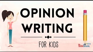 Opinion Writing for Kids | Episode 1 | What Is It?