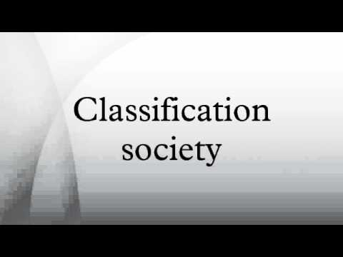 Classification society