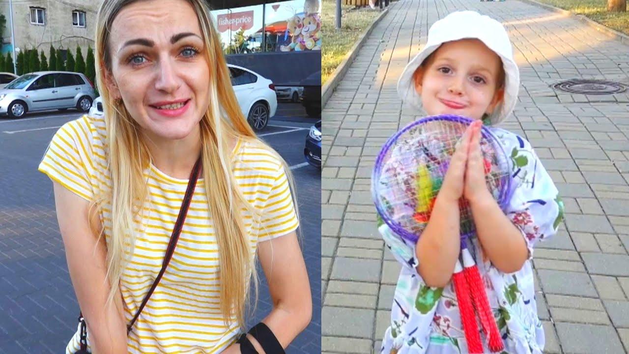 Cumparam cadou de ziua lui Alexunea | Vlog in Parc