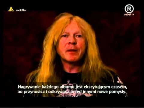 Iron Maiden - Band Interview - Making Of The Final Frontier - PL Napisy