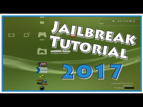 PS3 ULTIMATE JAILBREAK GUIDE! CFW 4.81 (March 2017) PLUS MOD TUTORIAL!