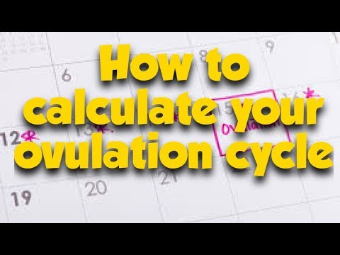 How TO Calculate Your Ovulation Cycle Using Calendar (tagalog) l itsmhyelife vlog