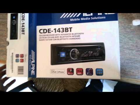 Alpine CDE-143BT Radio for the Volvo 940 Wagon - Unboxing and Rambling