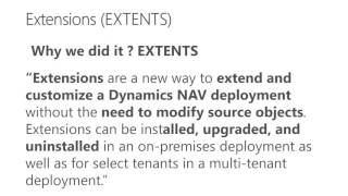 NAV 2016 Events and Extensions